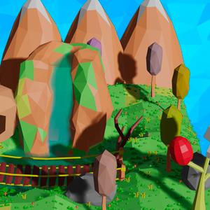 Modelagem de Assets Low Poly Com Blender 3D